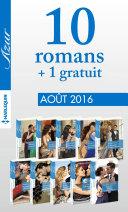 10 romans Azur + 1 gratuit (no3735 à 3744 - Août 2016)