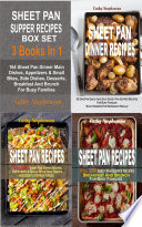 Sheet Pan Supper Recipes Box Set Book PDF