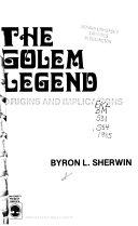 The Golem Legend