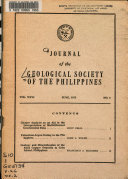 Journal of the Geological Society of the Philippines