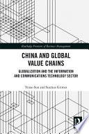 China and Global Value Chains Book