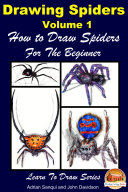 Drawing Spiders Volume 1   How to Draw Spiders For the Beginner