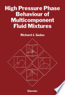 High Pressure Phase Behaviour of Multicomponent Fluid Mixtures Book