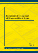 Sustainable Development of Urban and Rural Areas [Pdf/ePub] eBook