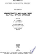 Non destructive Micro Analysis of Cultural Heritage Materials Book