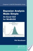 Bayesian Analysis Made Simple Book