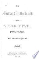 The Human Brotherhood and a Psalm of Faith