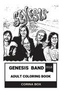 Genesis Band Adult Coloring Book