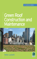 Book cover of Green roof construction and maintenance