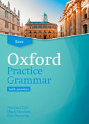 Book cover of Oxford practice grammar.