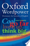 Oxford wordpower dizionario inglese
