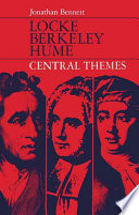 Locke,Berkeley,Hume central themes