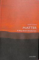 Book cover of Matter : a very short introduction