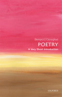 Book cover of Poetry : a very short introduction