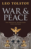 Book cover of War and peace