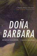Book cover of Doña Barbara