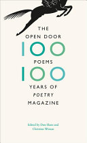 Book cover of The open door : one hundred poems, one hundred years of Poetry magazine