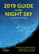Book cover of 2019 guide to the night sky