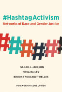 Book cover of #HashtagActivism : networks of race and gender justice