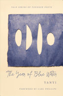 Book cover of The year of blue water