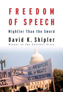 Book cover of Freedom of speech : mightier than the sword