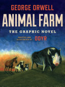 Book cover of Animal farm : the graphic novel