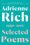 Book cover of Selected poems, 1950-2012