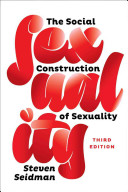 Book cover of The social construction of sexuality