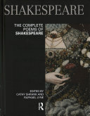 Book cover of The complete poems of Shakespeare