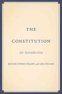 Book cover of The Constitution : an introduction