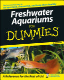 Book cover of Freshwater aquariums for dummies