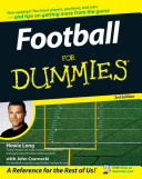 Book cover of Football for dummies