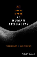 Book cover of 50 great myths of human sexuality