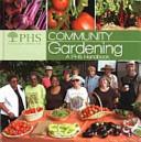 Book cover of Community gardening : a PHS handbook