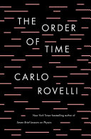 Book cover of The order of time