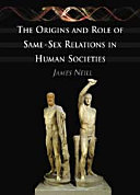 Book cover of The origins and role of same-sex relations in human societies
