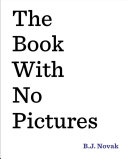 Book cover of The book with no pictures