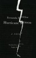Book cover of Hurricane season