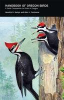 Book cover of Handbook of Oregon birds : a field companion to Birds of Oregon