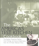 Book cover of The America's test kitchen cookbook