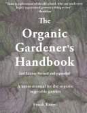 Book cover of The organic gardeners handbook