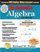 Book cover of No-nonsense algebra : master algebra the easy way!