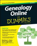 Book cover of Genealogy online for dummies