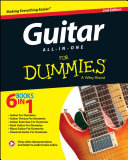 Book cover of Guitar all-in-one for dummies