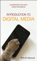 Book cover of Introduction to digital media