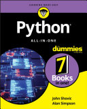Book cover of Python all-in-one