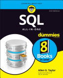 Book cover of SQL all-in-one for dummies