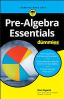 Book cover of Pre-algebra essentials