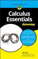 Book cover of Calculus essentials