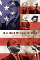 Book cover of On African-American rhetoric